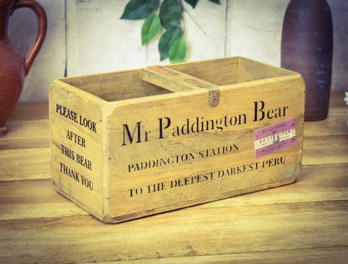 Medium Vintage Box PADDINGT0N